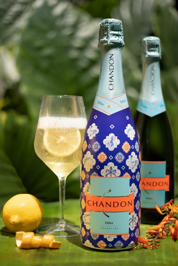 mimosa de tuna chandon délice