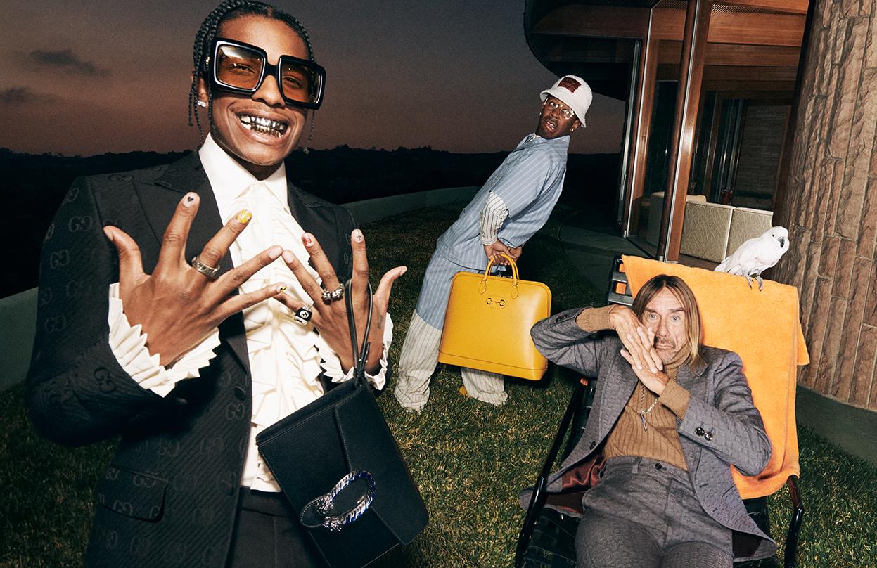 A$AP Rocky Tyler The Creator Iggy Pop Gucci