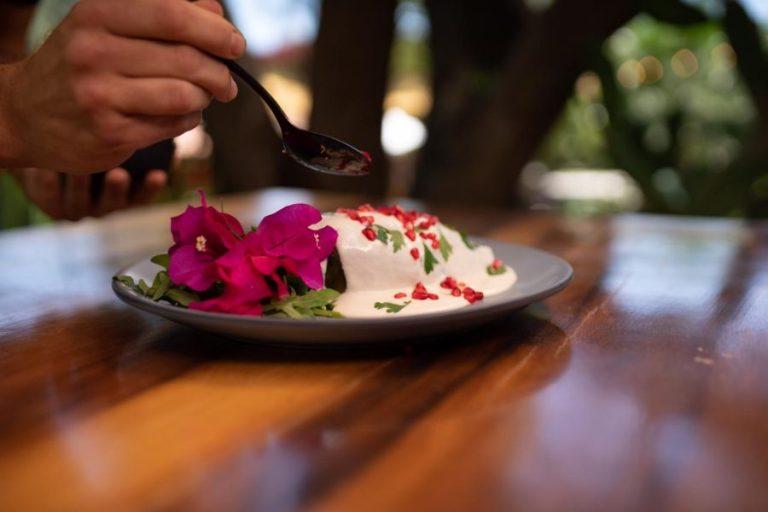 Tipos chile en nogada angelopolitano chef Gerardo Quezadas