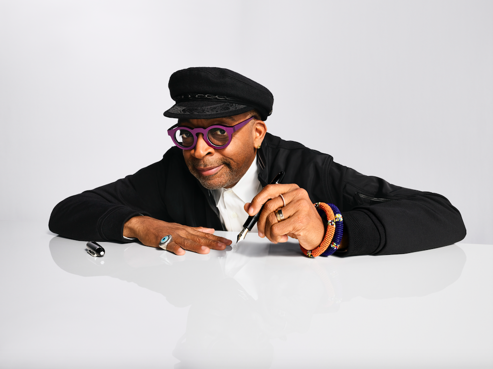WHAT MOVES YOU MAKES YOU SPIKE LEE MONTBLANC