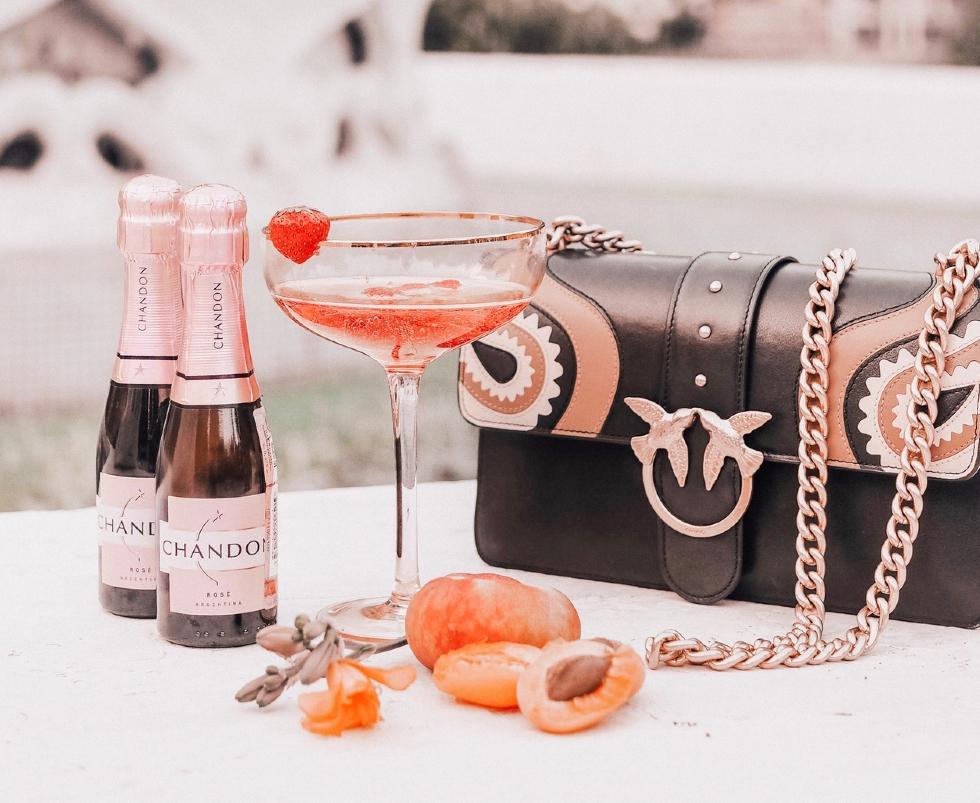 coctel la vie en rosé chandon delice I
