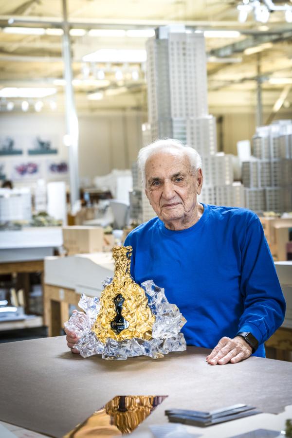 Hennessy frank Gehry edición especial