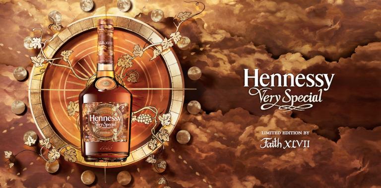 Hennessy Very Special en colaboración con Faith XLVII