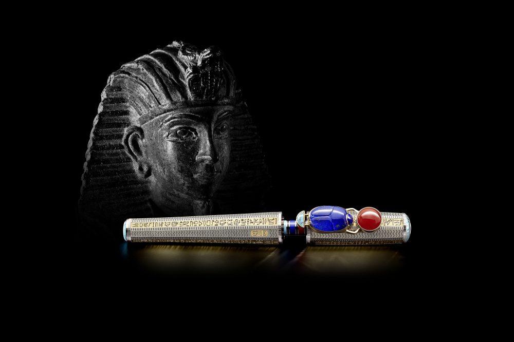 Montblanc Egyptomania pluma fuente Montblanc High Artistry Heritage Egyptomania