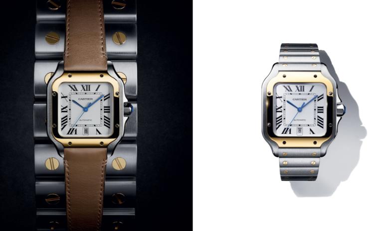 santo de Cartier santos Dumont reloj estilo II