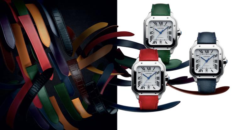 santo de Cartier santos Dumont reloj estilo III